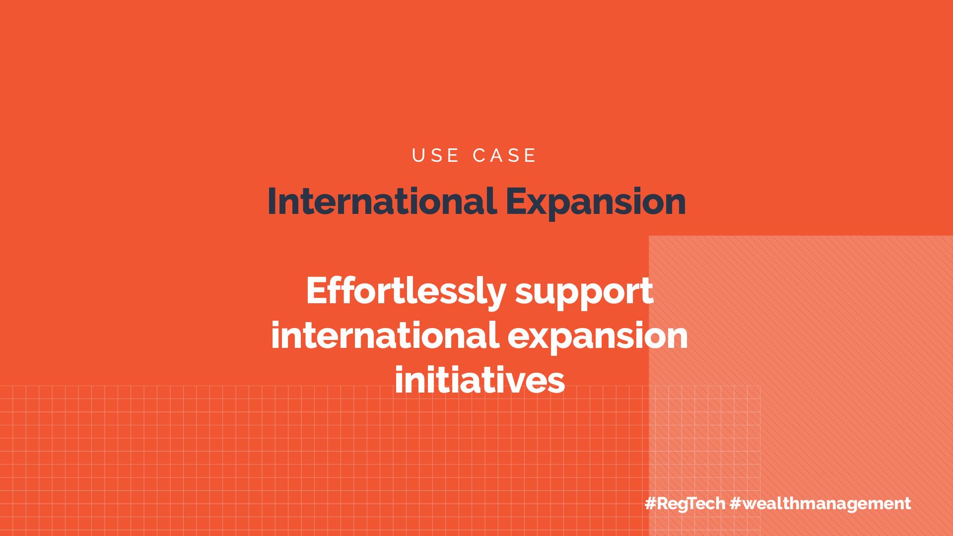 International Expansion