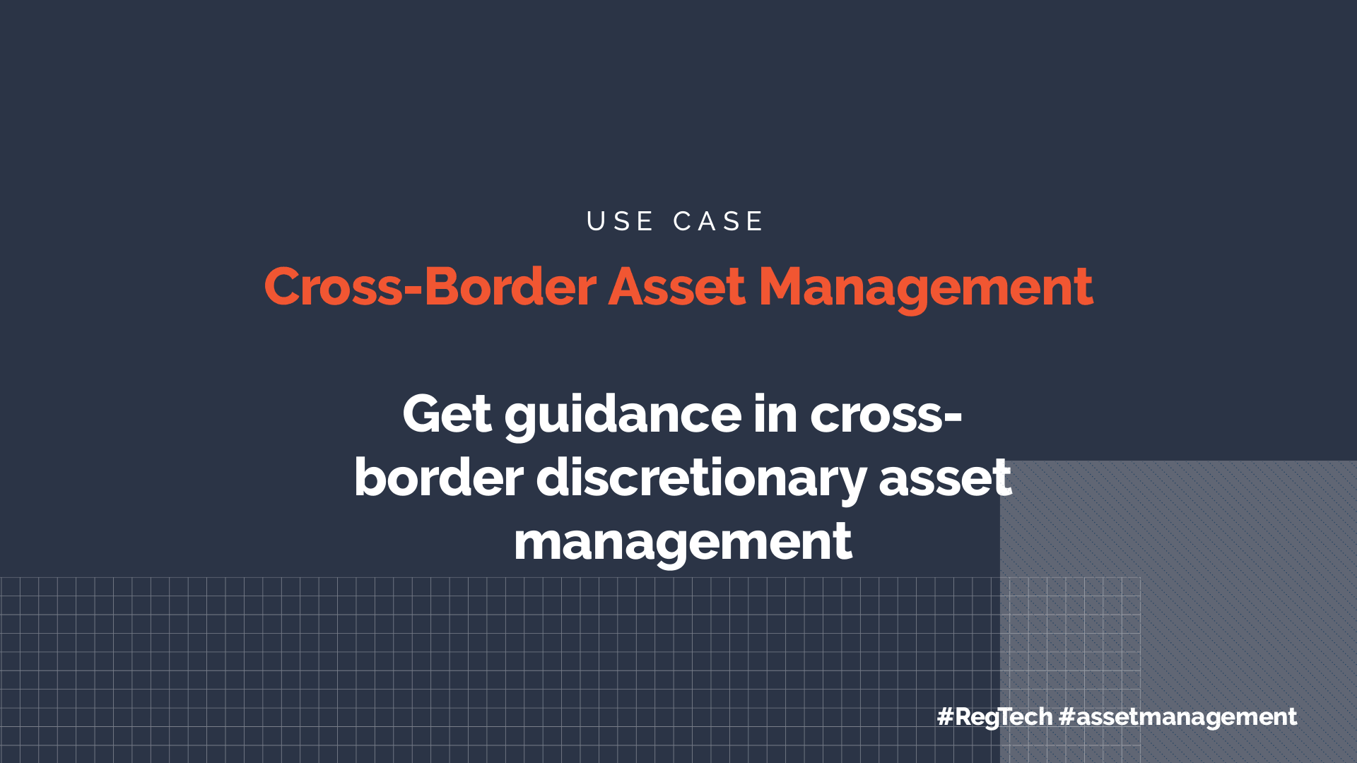Cross-Border Asset Management
